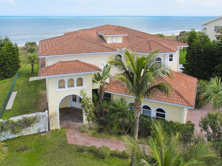Oceanfront Home in Brevard County