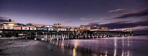 The Cocoa Beach Pier