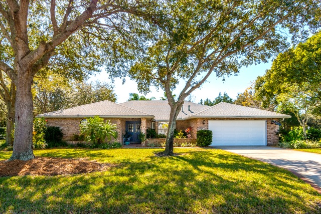 Home located in the Crystal Lake neighborhood of Suntree, FL