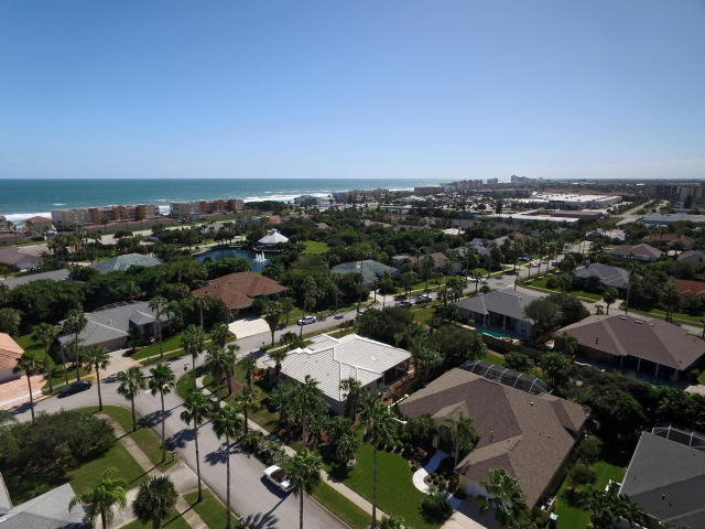 The Martesia subdivision of Indian Harbour Beach, FL