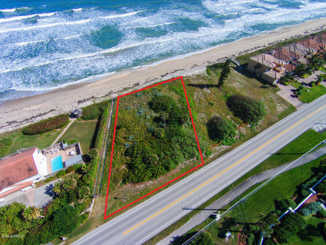 Vacant oceanfront land in Melbourne Beach