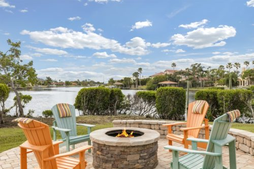 Example of waterfront marketing material for listings sold in Brevard County